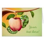Happy Catterpillar Greeting Card