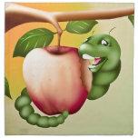 Happy Catterpillar Printed Napkin