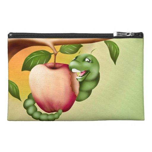 Happy Catterpillar Travel Accessory Bags