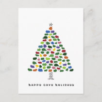 Happy Cavy Holidays Holiday Postcard