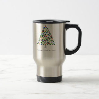 Happy Cavy Holidays Travel Mug