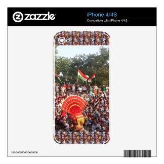 Happy Celebration style of India Decal For The iPhone 4