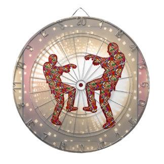 HAPPY CELEBRATIONS Print ZOMBIE MOON Dance Dart Boards