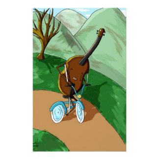 Happy Cello Custom Stationery