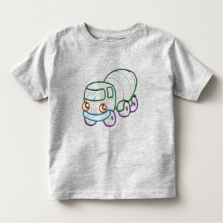 Happy Cement Truck Toddler T-shirt