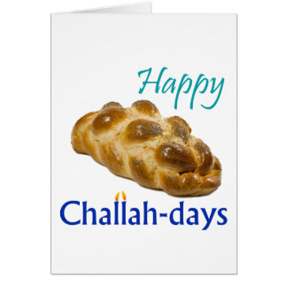 Happy Challah-days Card