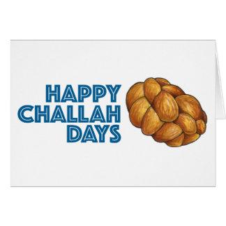 Happy Challah Days Hanukkah Chanukah Card