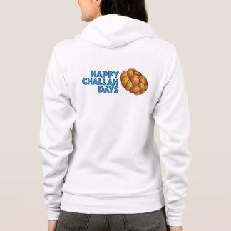 Happy Challah Days Hanukkah Chanukah Gift Hoodie