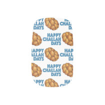 Happy Challah Days Hanukkah Chanukah Holiday Bread Minx Nail Wraps