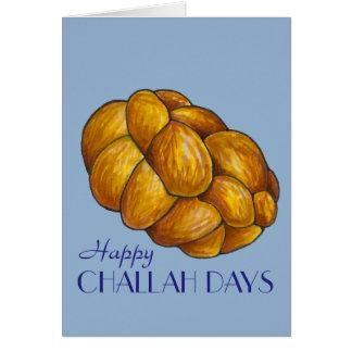 Happy Challah Days Hanukkah Chanukah Holiday Card