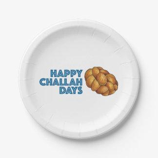 Happy Challah Days Hanukkah Chanukah Holiday Plate