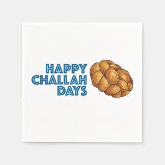 Happy Challah Days Hanukkah Chanukah Napkins
