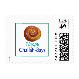 Happy Challah-Days Jewish Holiday Postage