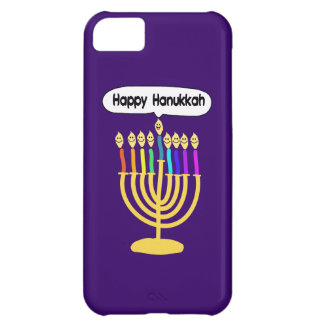 Happy Channukah Menora / Chanukia Cover For iPhone 5C