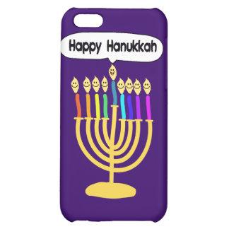 Happy Channukah Menora / Chanukia iPhone 5C Cases