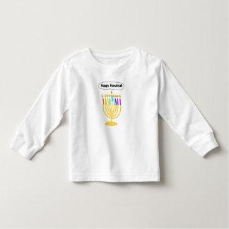 Happy Channukah Menora / Chanukia T Shirts