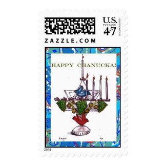 Happy Chanucka Stamp