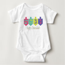 Happy Chanukah Baby Bodysuit