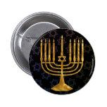 Happy chanukah button
