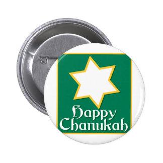 Happy Chanukah 2 Inch Round Button
