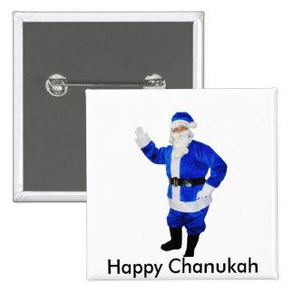 Happy Chanukah 2 Inch Square Button