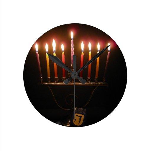 Happy Chanukah! Clocks