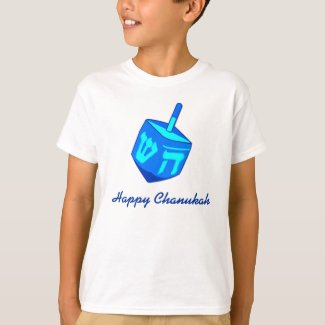 Happy Chanukah Dreidel T-Shirt