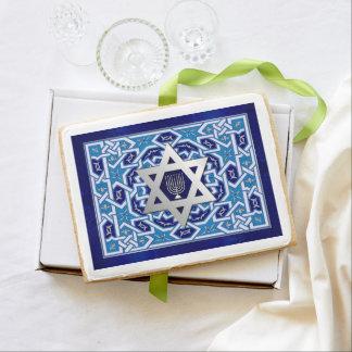 Happy Chanukah. Gift Jumbo Sugar Cookies
