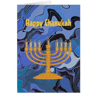 Happy Chanukah greeting Card