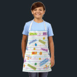 "Happy Chanukah Pattern Apron<br><div class=""desc"">Happy Chanukah, Patterned Apron. All design elements can be transferred to other Zazzle products and edited. Happy Hanukkah! Thanks for stopping by. Much appreciated! Size: All-Over Print Apron, Small 24""x20"" Whether you are cooking at home, hosting a summer BBQ, or creating arts & crafts- do so in style with our...</div>"