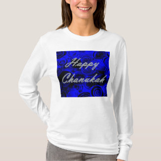 Happy Chanukah Swirls T-Shirt