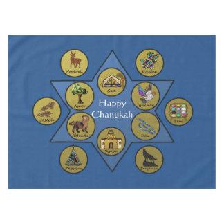 Happy Chanukah Table Cloth