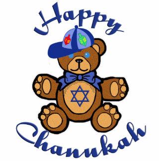 Happy Chanukah Teddy Bear Statuette