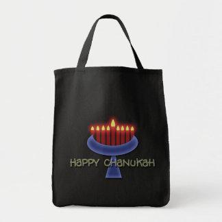Happy Chanukah tote bags