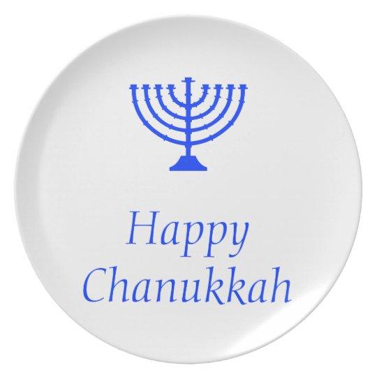 Happy Chanukkah / Hanukkah plate