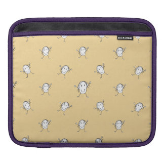 Happy Character Kids Motif Pattern Sleeve For iPads