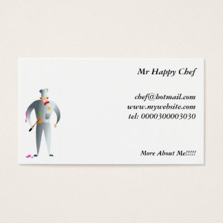 Happy Chef Business Card