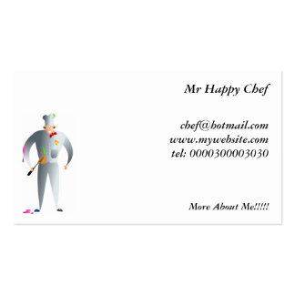 Happy Chef Business Card Template