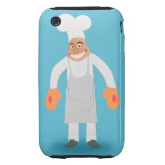 Happy Chef iPhone 3 Tough Case