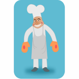 Happy Chef Cutout