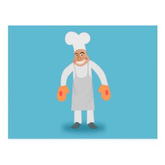 Happy Chef Postcard