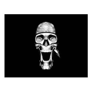 Happy Chef Skull v2 Postcard