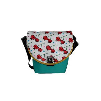 Happy Cherries Courier Bag