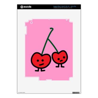 Happy Cherries iPad 3 Skin