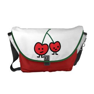 Happy Cherries Messenger Bag