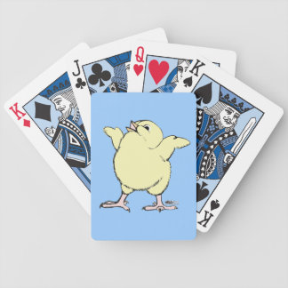 Happy Chick Bicycle Playing Cards