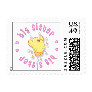 Happy Chick Big Sister Stamps