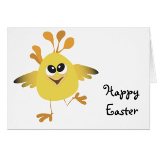 Happy Chick Card