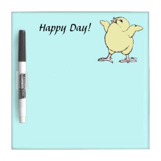 Happy Chick Dry-Erase Whiteboard
