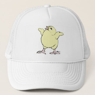 Happy Chick Trucker Hat